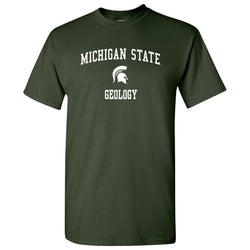 Michigan State Geology T-Shirt - Forest