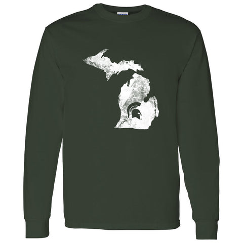 Peninsular Long Sleeve T-Shirt - Forest