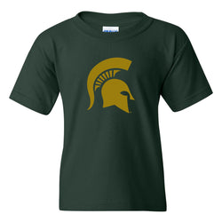 Youth Spartan Helmet T-shirt - Copper