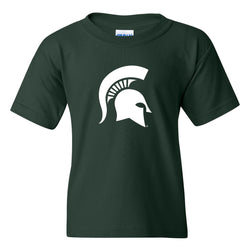 Youth Spartan Helmet T-shirt - Forest