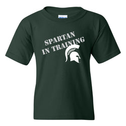 Youth Spartan In Training T-shirt - Forest