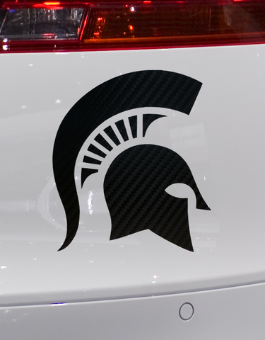 Carbon Fiber Sparty Decal