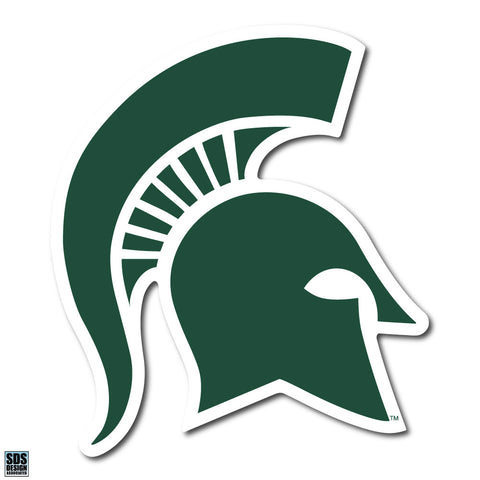 "5"" Sparty Dizzler Decal - Green"