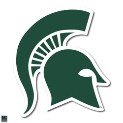 "2"" Sparty Dizzler Decal - Green"