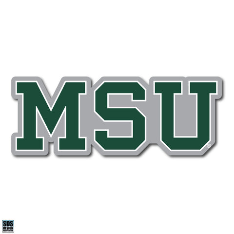 "2"" MSU Dizzler Decal"