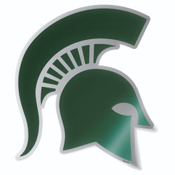 Stainless Steel Sparty Decal