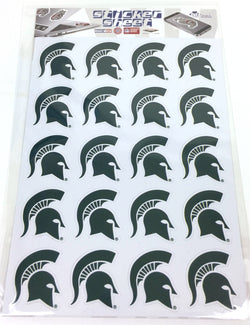 MSU Spartan Sticker Sheet