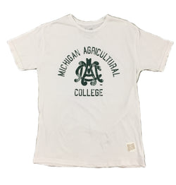 Mens M.A.C. Logo T-shirt - White
