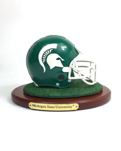 MSU Football Helmet Statue
