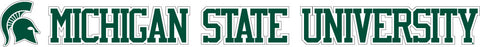 "20"" Long MSU Decal"
