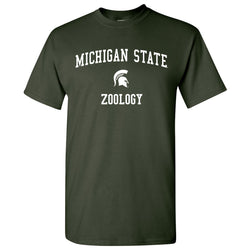 Michigan State Zoology T-Shirt - Forest