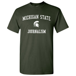 Michigan State Journalism T-Shirt - Forest