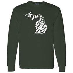 Freehand Long Sleeve T-Shirt - Forest