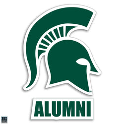 "3"" Sparty Decal - Alumni"