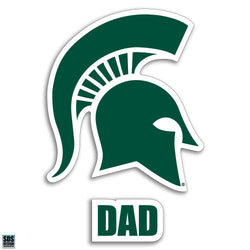"3"" Sparty Decal - Dad"