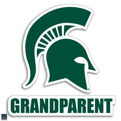 "3"" Sparty Decal - Grandparent"