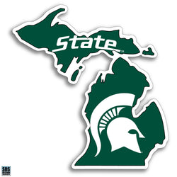 "6"" Map Decal - Sparty"