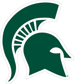 Green Sparty Decal - 6""