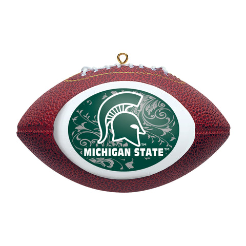MSU Football Ornament