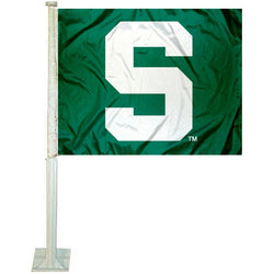 Green Car Flag - Block S