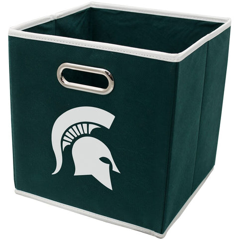 MSU Collapsible Storage Bin