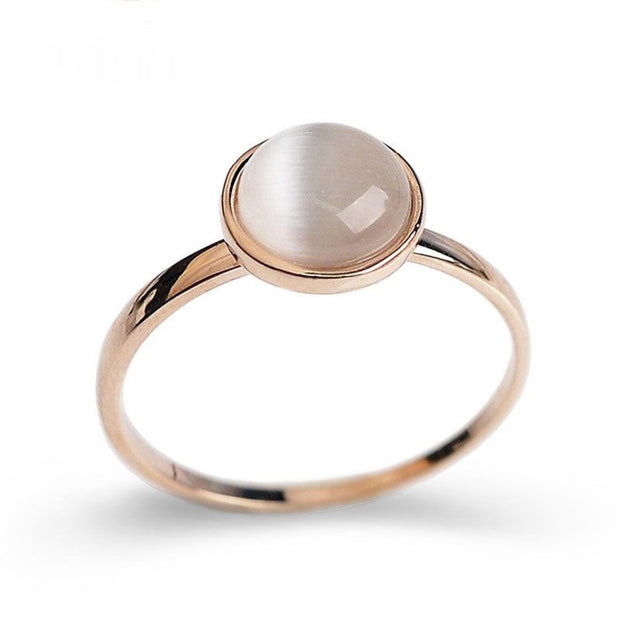 Cat's Eye Stone Ring