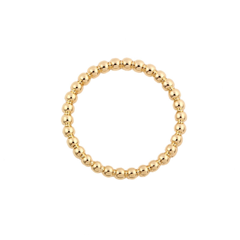 Stacking Beaded Ring