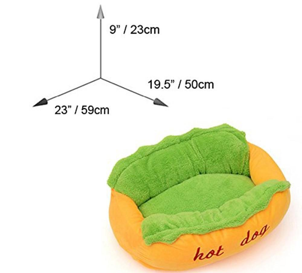 "Playful ""Hot Dog"" Bed"