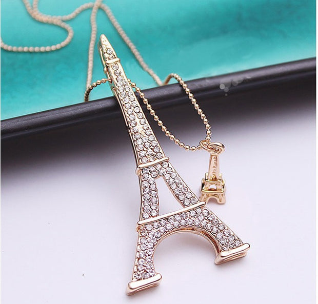 Ooh La La Eiffel Tower Necklace
