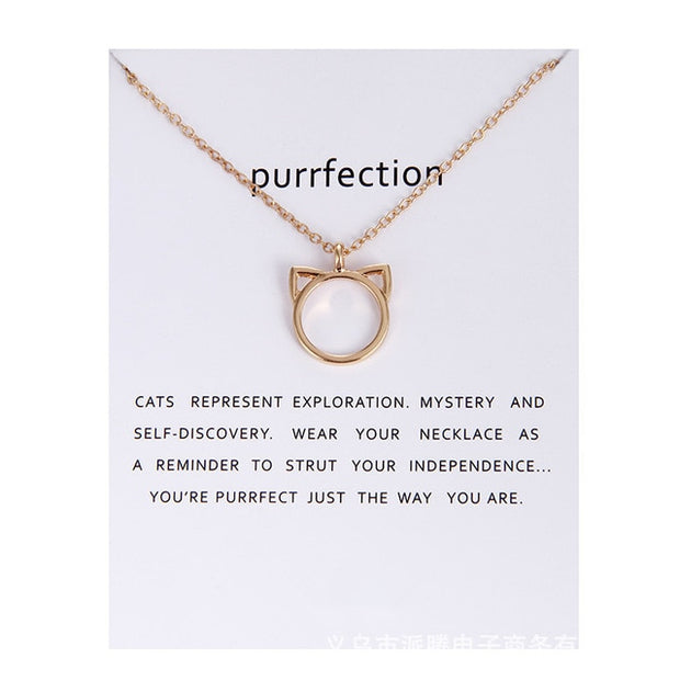 Parisian Purrfection Necklace
