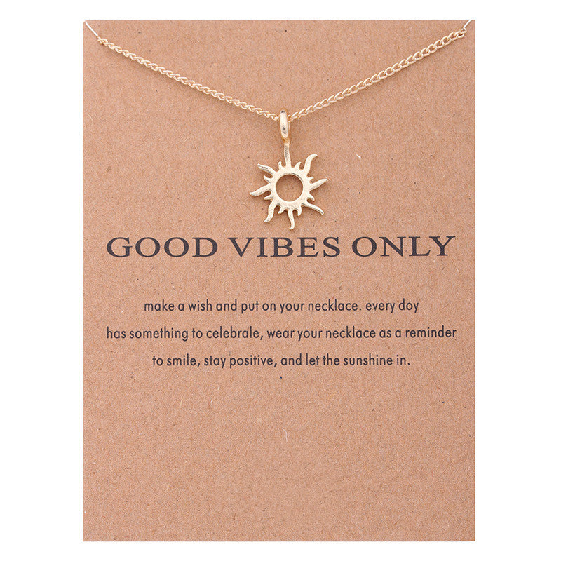Precious Positivity Necklace