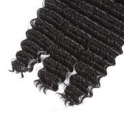 QT Whole Sale Remy Hair Brazilian Deep Wave Extension 3 Bundles - QT Hair