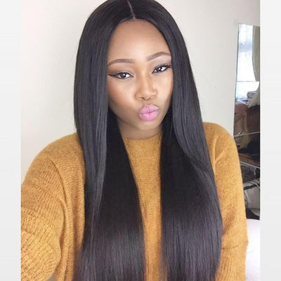 QT Peruvian Straight Hair 3 Bundles Deals Unprocessed Virgin Hair Weave - QT Hair