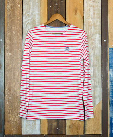 Striped // Men's LS Tee