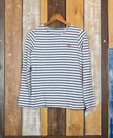 Striped // Women's LS Tee