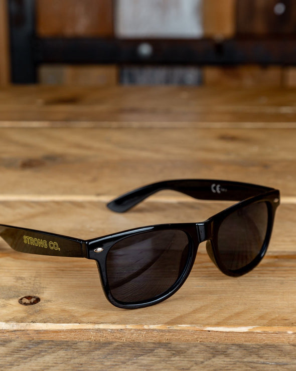 Strong Co // Black Sunglasses