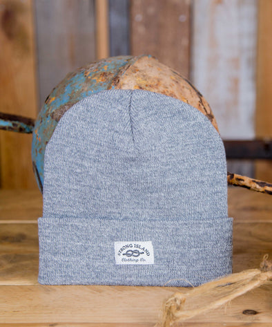 Staple Beanie // Grey Marl