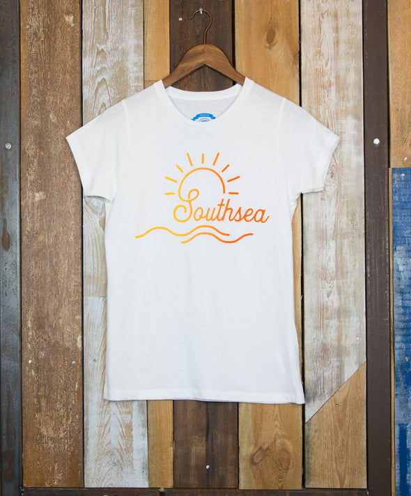 Faded Southsea Sun // Women's Tee