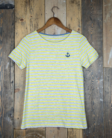 Striped // Women's Tee