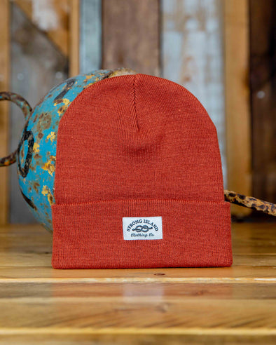 Staple Beanie // Rust