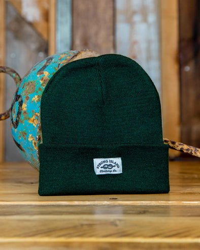 Staple Beanie // Bottle Green