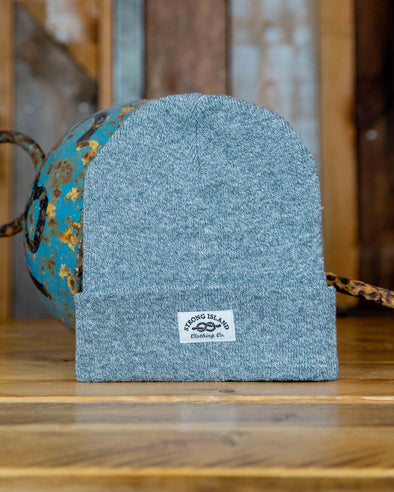 Staple Beanie // Heather Grey