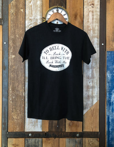 Hell With Luck Heritage Tee // Small