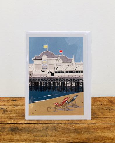 Greeting Card // South Parade Pier