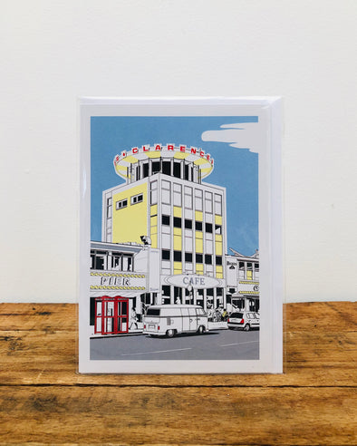 Greeting Card // Clarence Pier