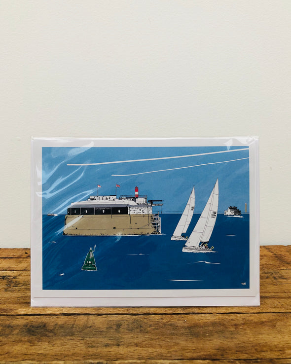 Greeting Card // Spitbank Fort