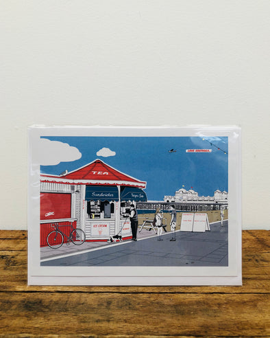 Greeting Card // Kiosk
