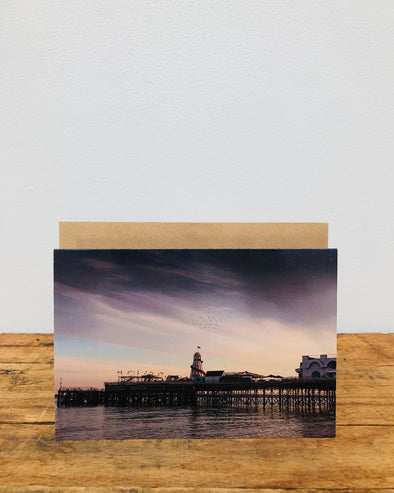 Greeting Card // The Pier
