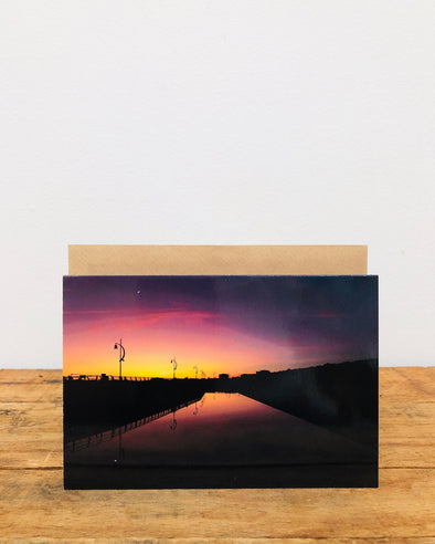 Greeting Card // Sunset