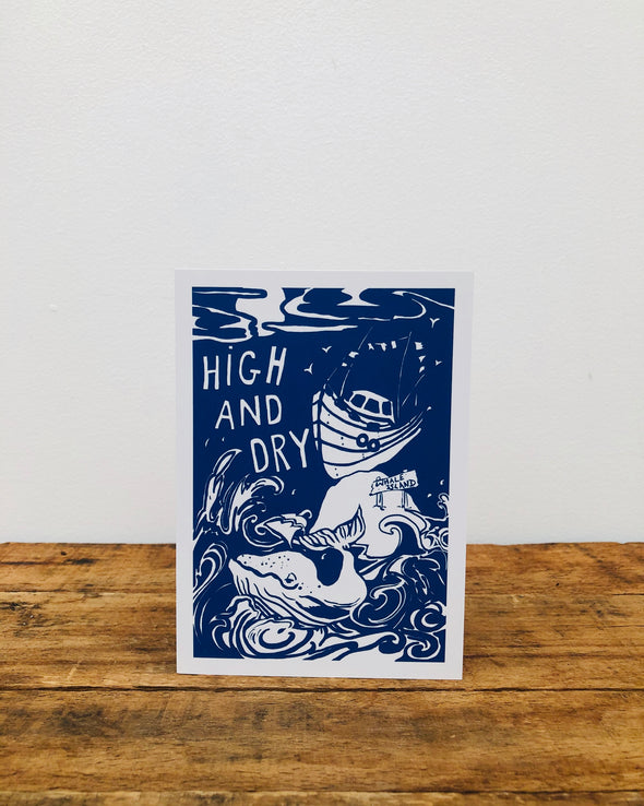 Greeting Card // High & Dry